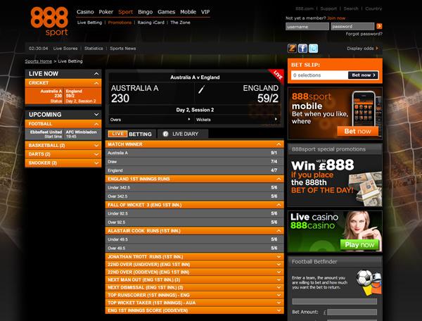bet sport 888